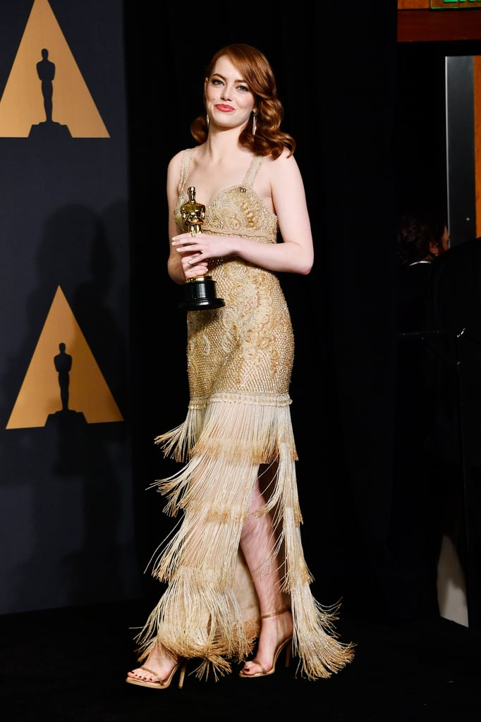 Emma Stone and Audrey Hepburn Givenchy Oscars Dresses | POPSUGAR Fashion