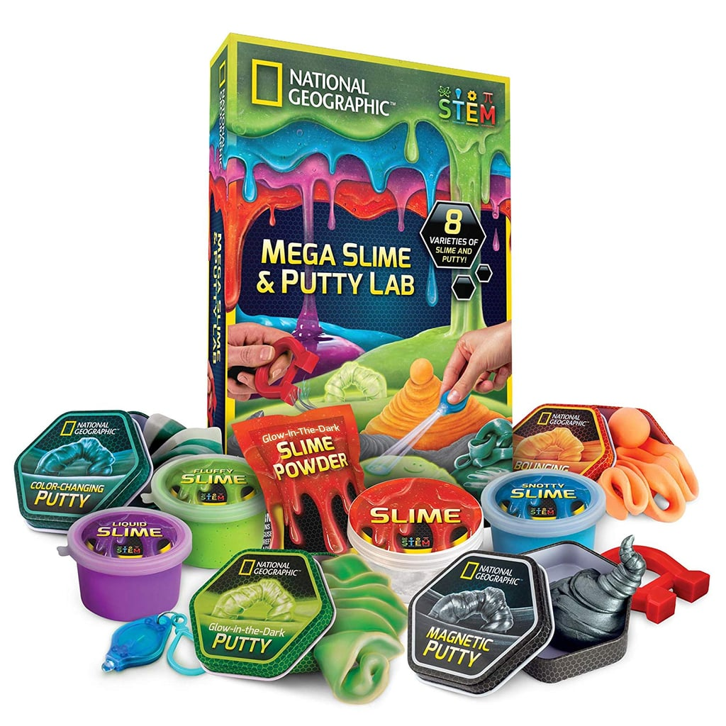 For 6-Year-Olds: National Geographic Mega Slime Kit & Putty Lab