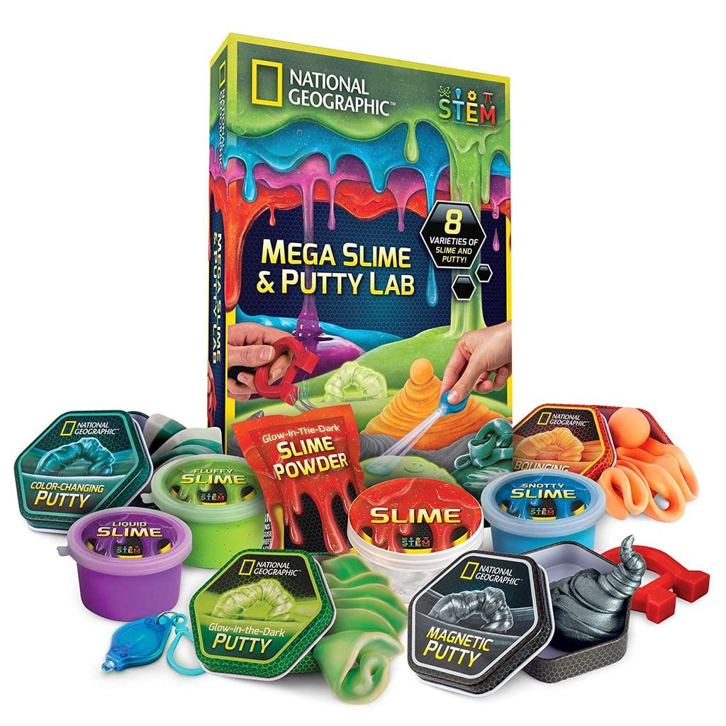 National Geographic Mega Slime Kit & Putty Lab