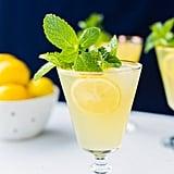 Sparkling Mint Meyer Lemonade