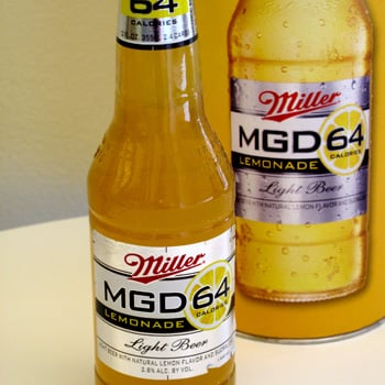 Taste Test: MGD 64 Lemonade
