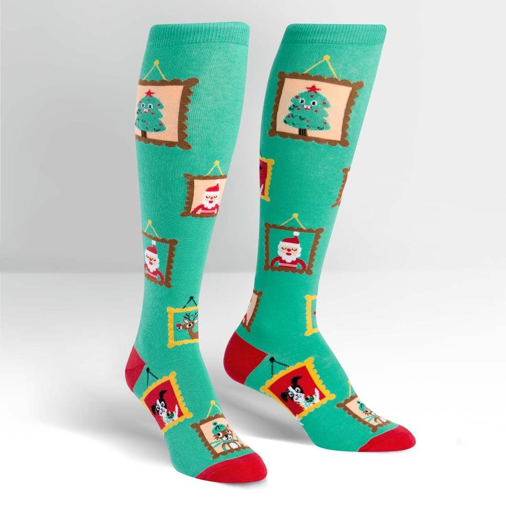 Holiday Photos Socks ($12)