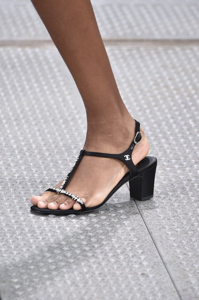 Chanel Shoes on the Runway During Paris Fashion Week