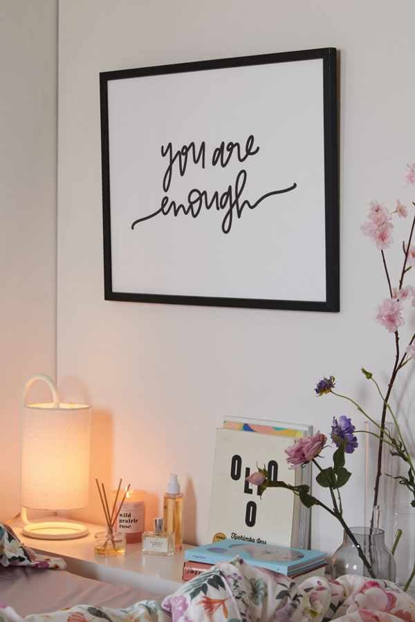 """Chelcey Tate """"You Are Enough"""" Art Print"""
