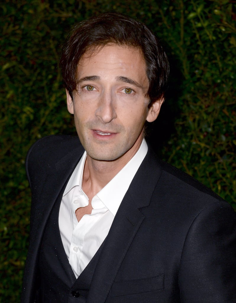 Adrien Brody attended the dinner.