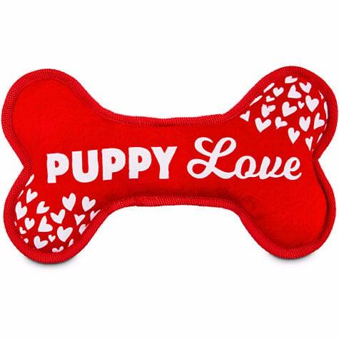Love My Pup Puppy Love Plush Bone Dog Toy ($8)