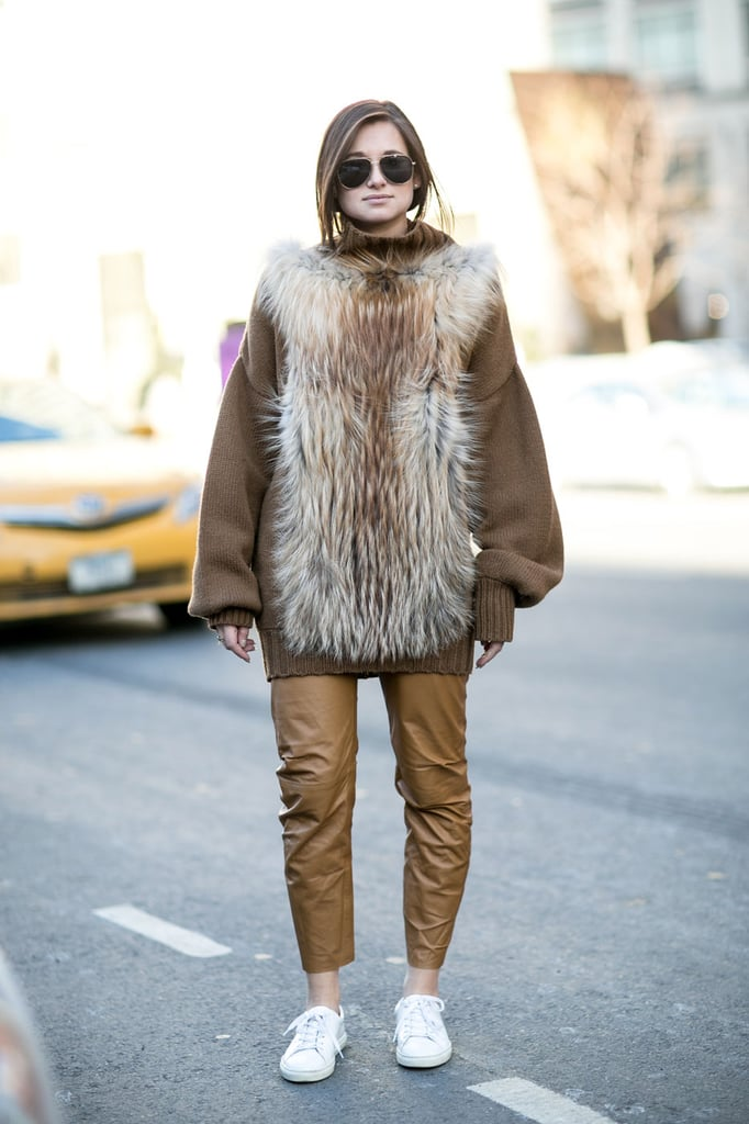 Street Style Stars At New York Fashion Week Fall 2015 Popsugar Fashion Australia