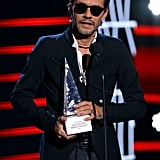 Marc Anthony at the Latin AMAs