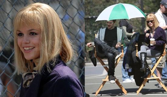 "Rachel Bilson and Hayden Christensen Film ""New York, I Love You"""