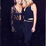 Jen showed off her famous Rachel haircut alongside Lisa Kudrow at the VH1 Honors event in September 1995.