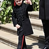 When He Was a Pageboy in Harry and Meghan's Wedding