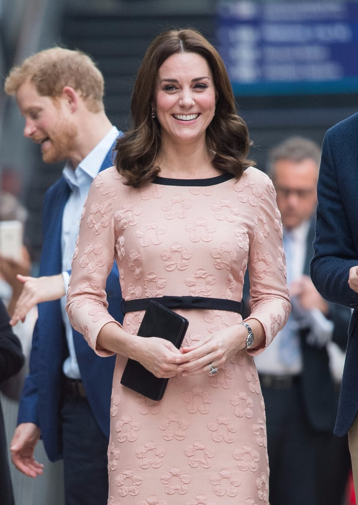 the Duchess of Cambridge Pregnancy Haircut | October 2017
