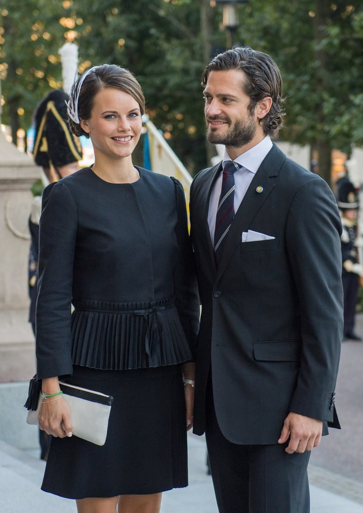 There's been endless fascination with The Duke and Duchess of Cambridge over the past 10 years, and even more so since they recently welcomed their second child, Princess Charlotte. But while the new family of four spends private time at their Anmer Hall estate, there's another royal duo you can turn your attention to — Prince Carl Philip of Sweden and his fiancée, Sofia Hellqvist. The couple started dating in 2009 and announced their engagement in June 2014, with a wedding date set for June 13. Prince Carl may not be as well known as his British counterpart, Prince William, but he's actually third in line for the Swedish throne and definitely has that Prince Charming look down. Meanwhile, 30-year-old Sofia has some striking comparisons to Kate, namely her thick dark hair and status as a commoner. Start scrolling to get to know Sofia and Prince Carl before their big day on Saturday!