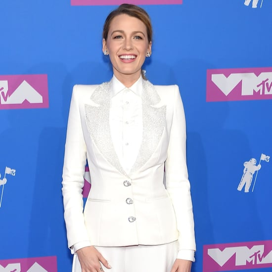 Blake Lively's White Suit at MTV VMAs 2018