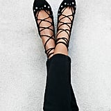 Free People Spring Sparkle Flat ($70, originally $158)