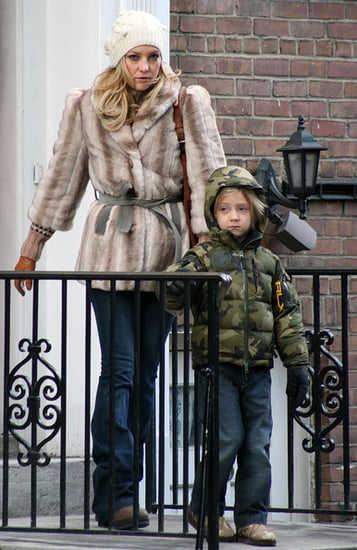 Kate Hudson and Ryder go for a stroll