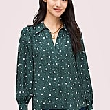 Kate Spade New York Pop Dots Blouse
