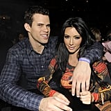 Kim Kardashian Spends the Night With Kris, Jonathan, and a Prince