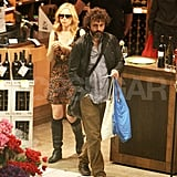 Rachel McAdams and Michael Sheen shop together at Whole Foods.