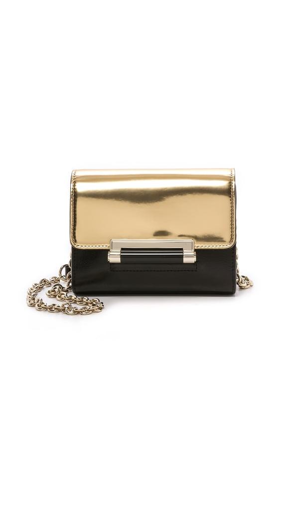 Diane von Furstenberg Metallic Bag