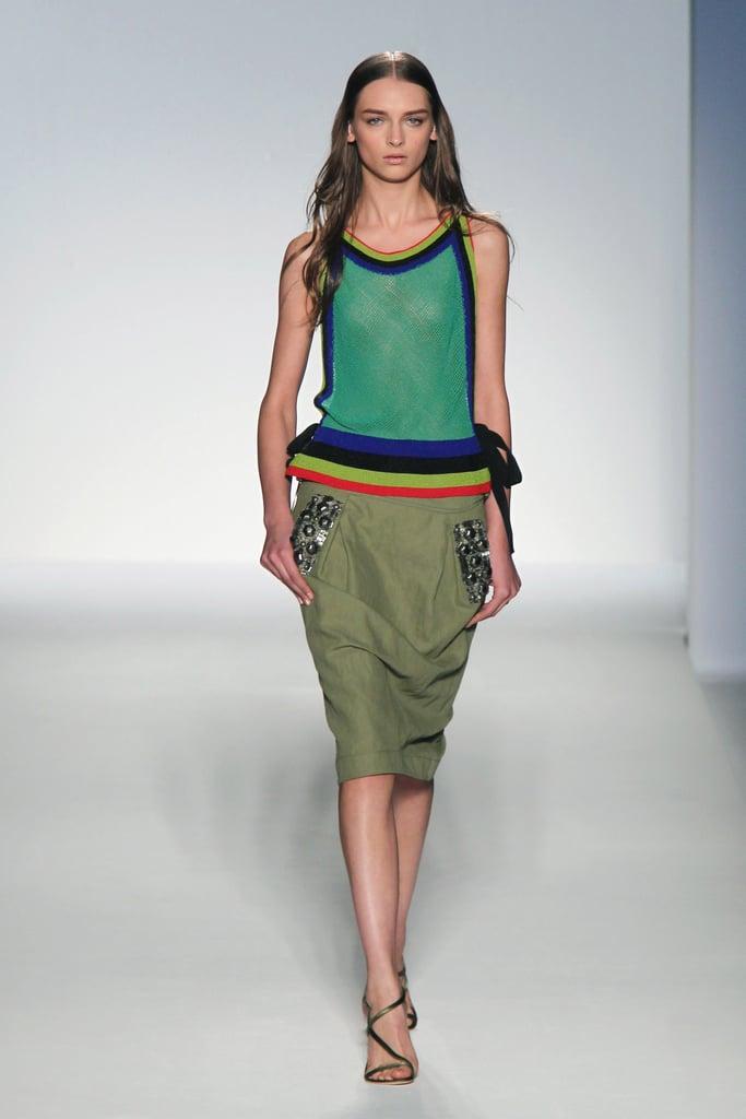 Best Looks From Spring 2012 Milan Fashion Week Popsugar Fashion