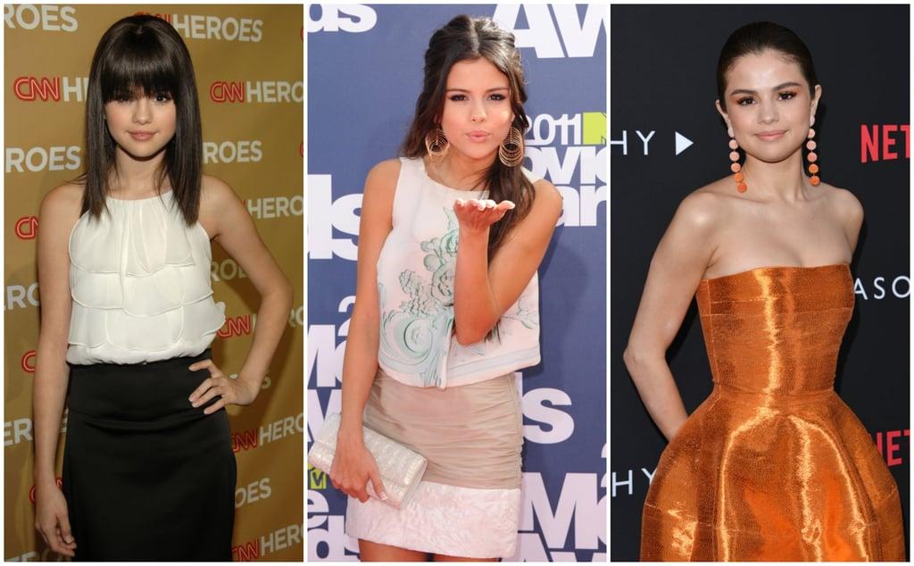 Selena Gomez Fashion Evolution