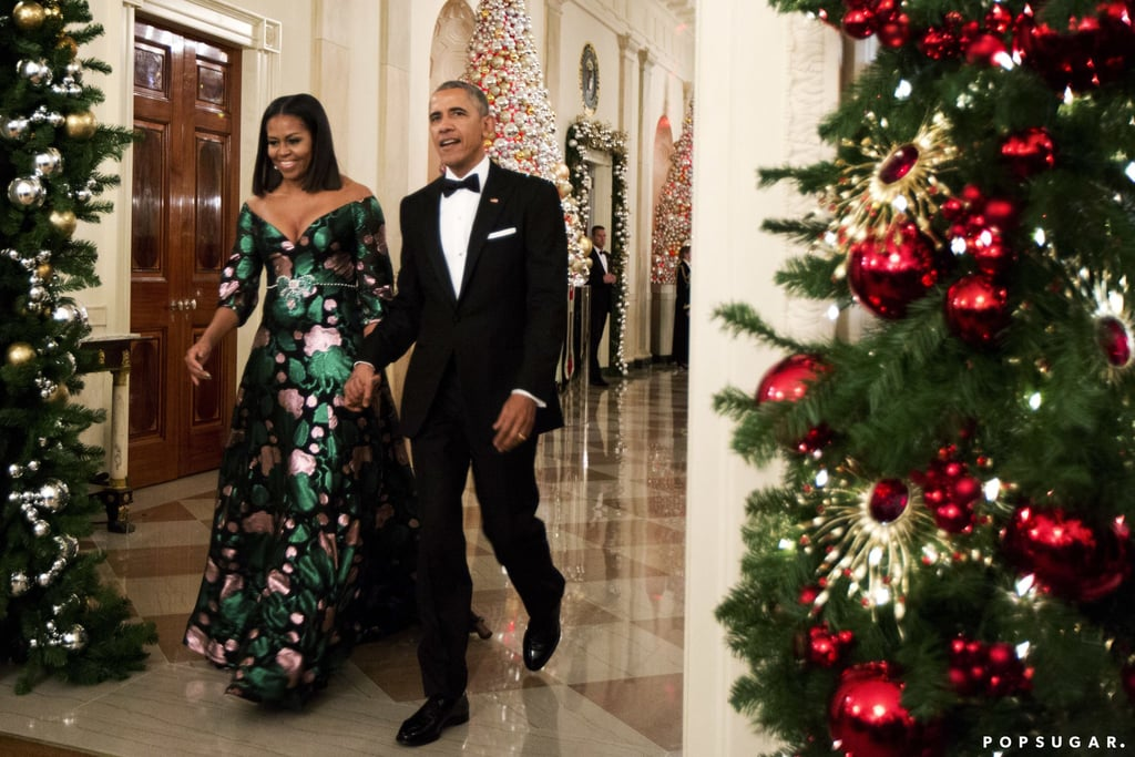 The presidential couple went out with style at their eighth and final Kennedy Center Honors in December.