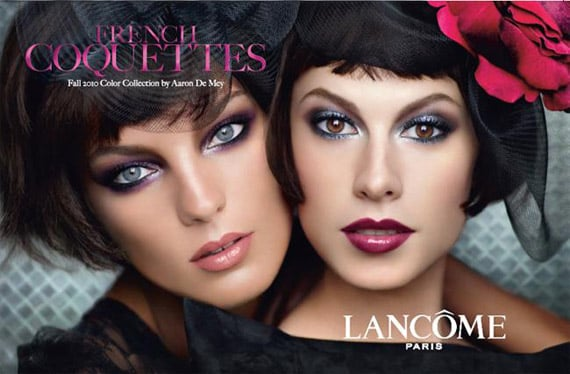 Photos of Lancome's 2010 French Coquettes Fall Makeup Collection