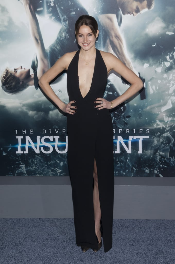 Shailene at the Divergent Series: Insurgent Premiere in New York