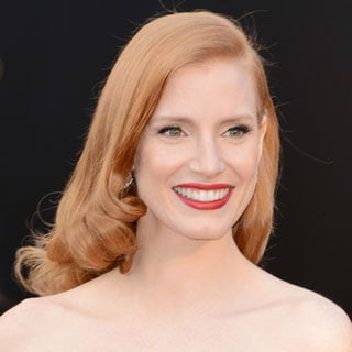 Pictures of Jessica Chastain at the 2013 Oscars