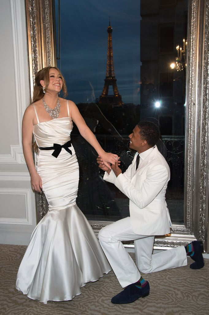 In April 2012 Mariah Carey And Nick Cannon Renewed Their