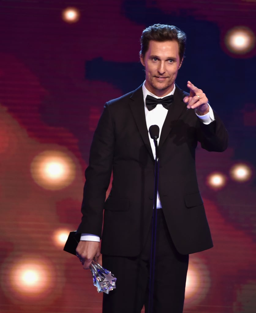 Matthew McConaughey put another victory under his belt with his best actor in a drama win.