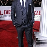 Channing wore a suit by Ermenegildo Zegna Couture.