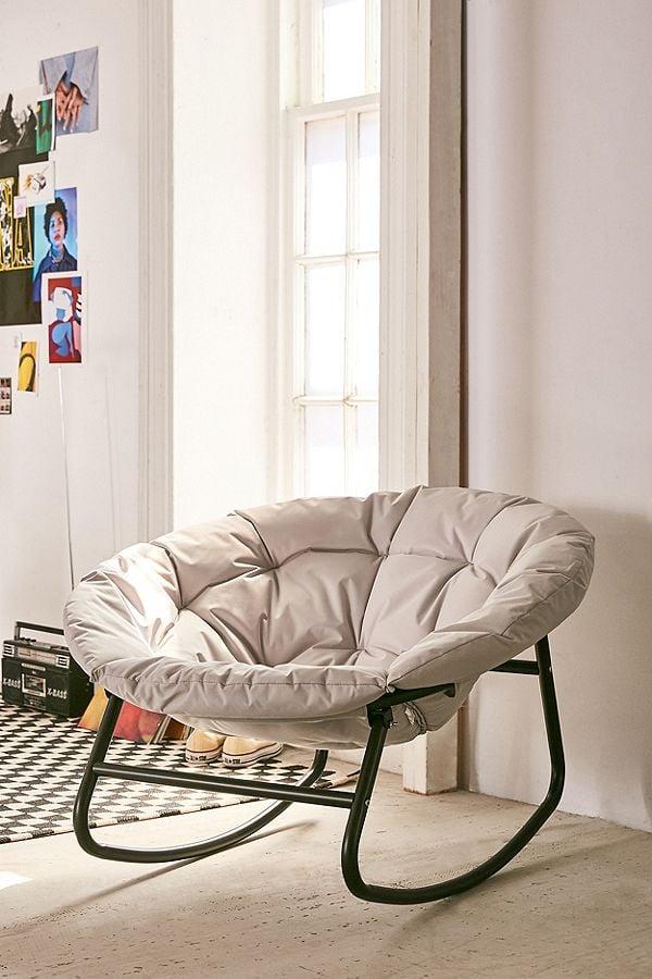 Merveilleux Basic Rocking Papasan Chair
