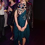 Jena Malone wore a colorful ensemble to the Marchesa afterparty on Saturday.