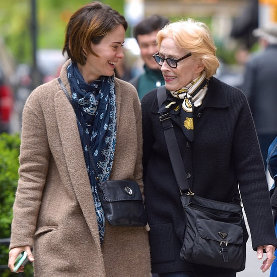 Sarah Paulson and Holland Taylor Out in NYC April 2017