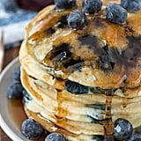 Fluffy Blueberry Pancakes