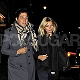 Kate Moss and Jamie Hince went to the movies together.