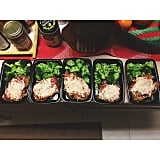 Chicken Parmesan + Broccoli