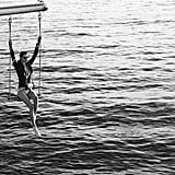 Swing high above the ocean in Chanel's Spring profferings.  Source: Fashion Gone Rogue
