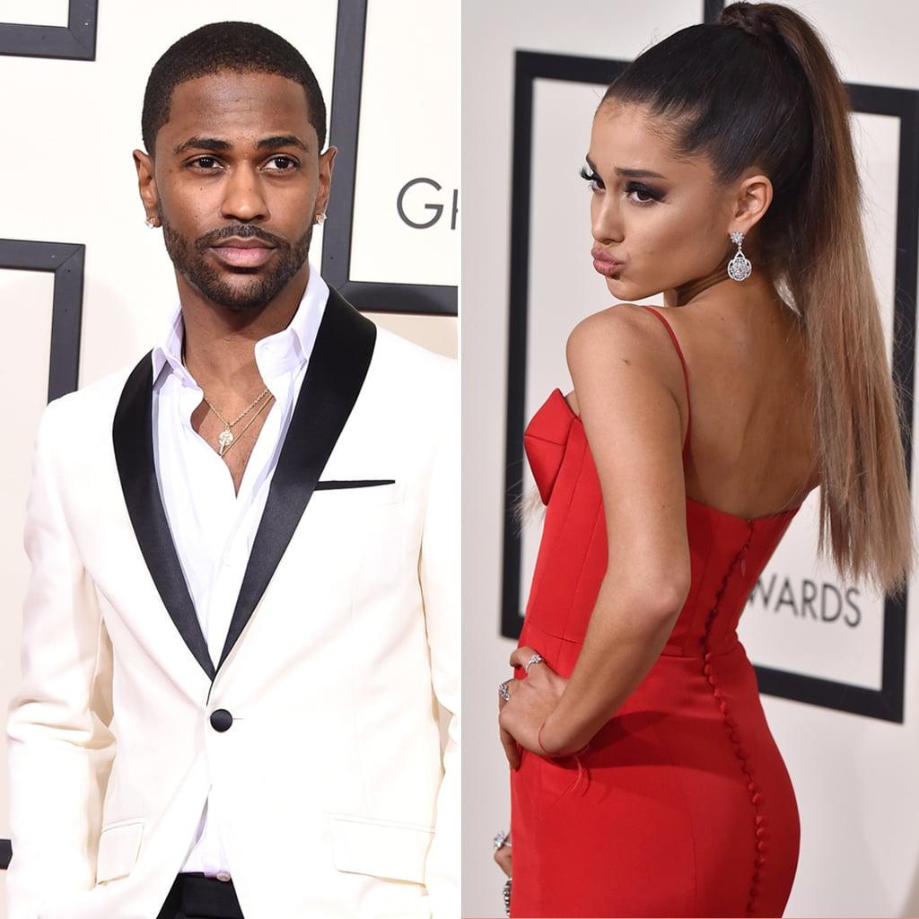 Big Sean and Ariana Grande at the Grammys