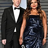 Mindy Kaling and B.J. Novak at Oscars Vanity Fair Party 2018