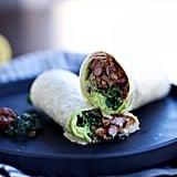 Walnut Mushroom Burrito