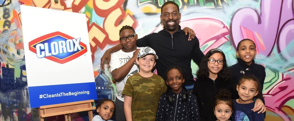 Sterling K. Brown Has a Creative Solution to Help Your Kids Learn to Love Cleaning