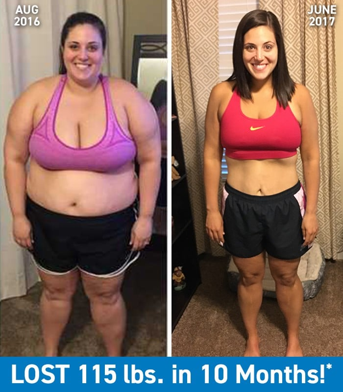 115-Pound Weight Loss | POPSUGAR Fitness
