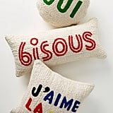 Clare V. for Anthropologie Maisonette Jute Pillow
