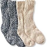 L.L. Bean Cotton Ragg Camp Socks