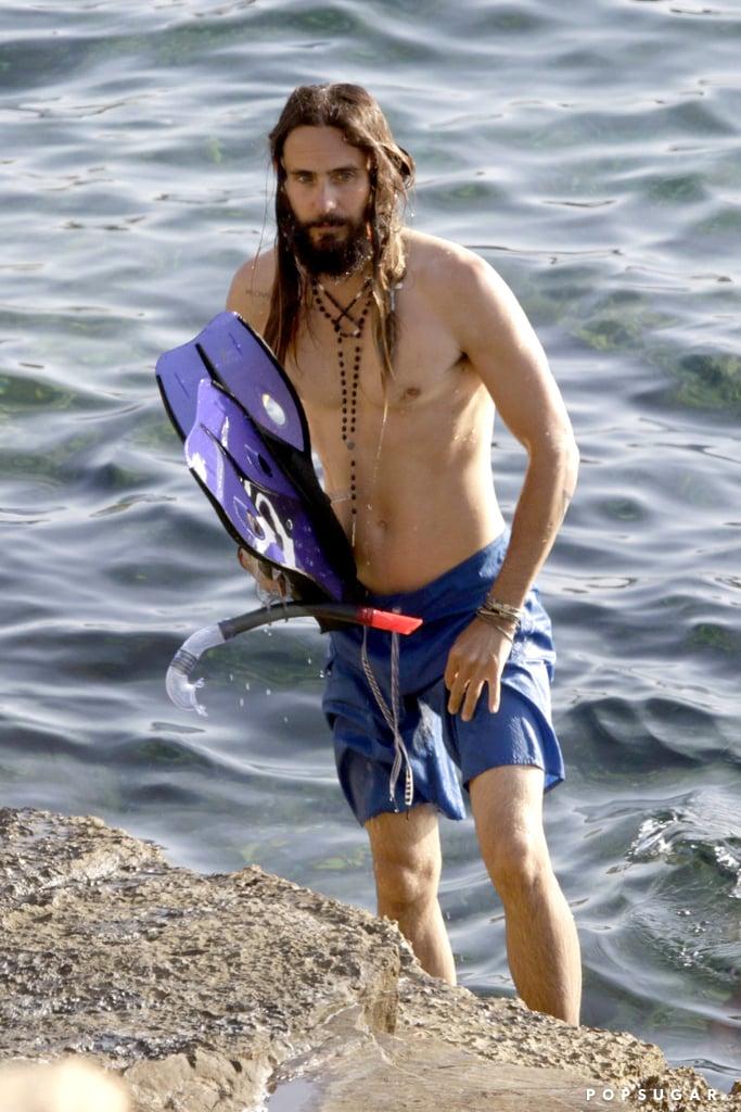 Jared Leto Shirtless Pictures | POPSUGAR Celebrity