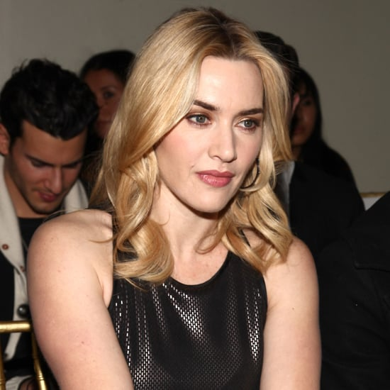 Kate Winslet Front-Row Pictures at NY Fashion Week