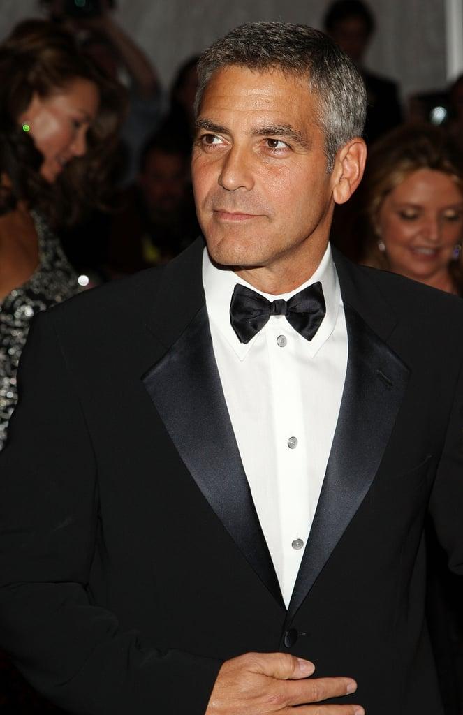 George Clooney at the 2008 Met Gala